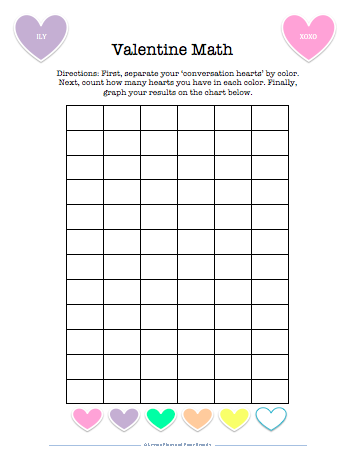 Candy Heart Graph Worksheet Pictures to Pin on Pinterest - ThePinsta
