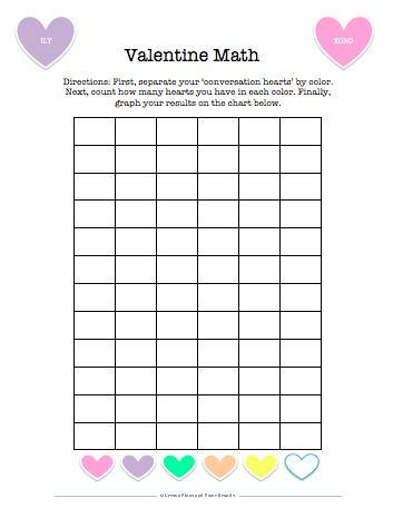 Similiar Conversation Hearts Math Worksheets Keywords