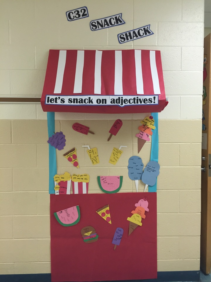 Snack on Adjectives!!